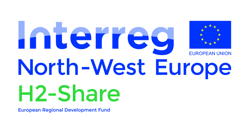 Logo H2-Share Interreg North-West Europe